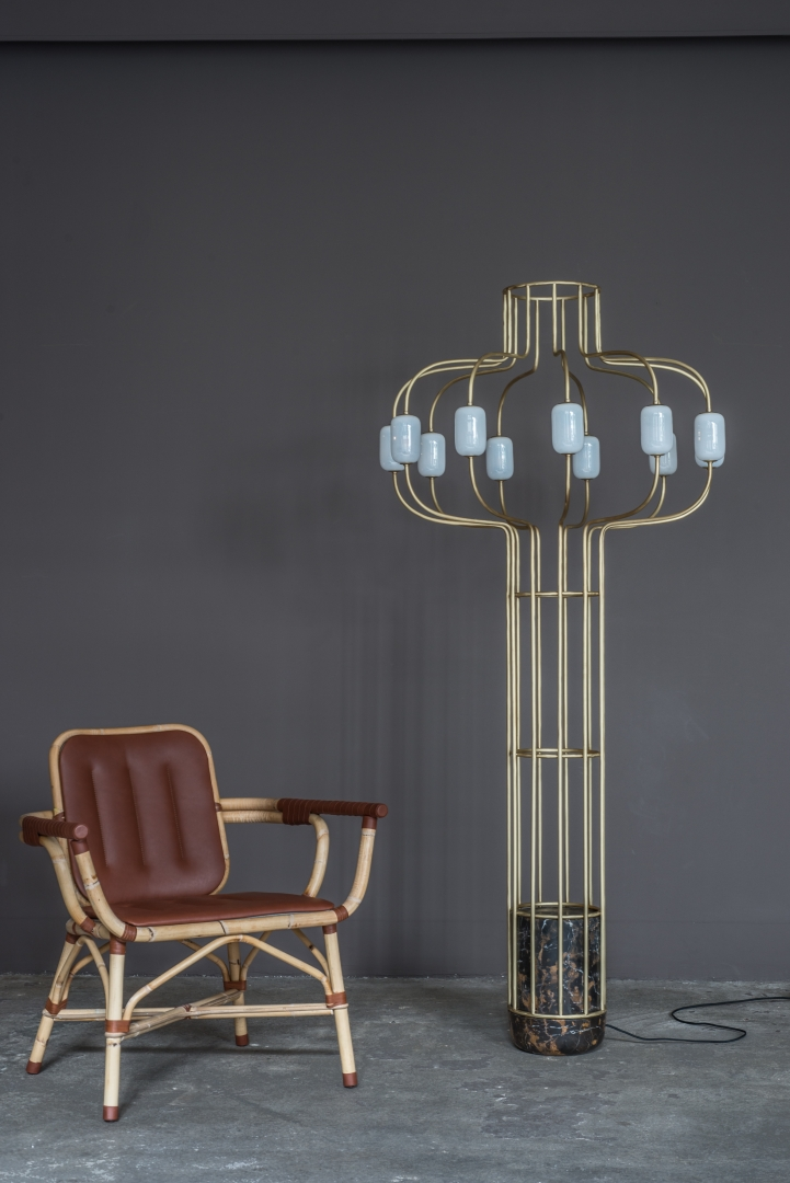 'CHANDELIER' Floor lamp